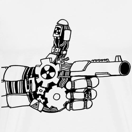Handgun - Mannen Premium T-shirt