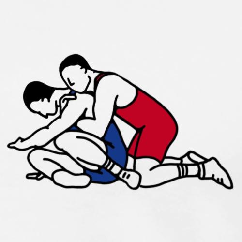 Wrestling - T-shirt Premium Homme