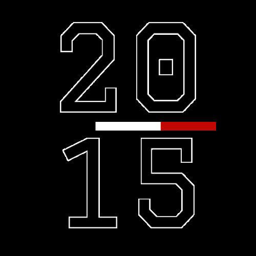 Est. 2015 - Premium-T-shirt herr