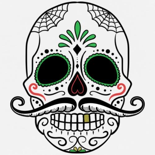 Skull, a Mexican Point - Fernando - Men's Premium T-Shirt