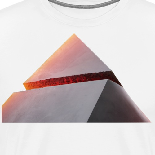 Pyramide - Männer Premium T-Shirt