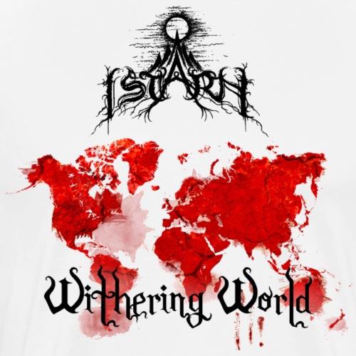 Withering World Merch Design - Premium T-skjorte for menn