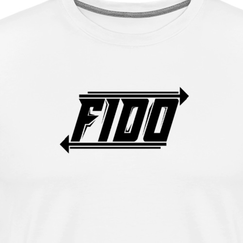 Fido - Simple - Herre premium T-shirt