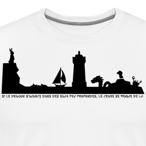 Varech et le dragon - T-shirt Premium Homme