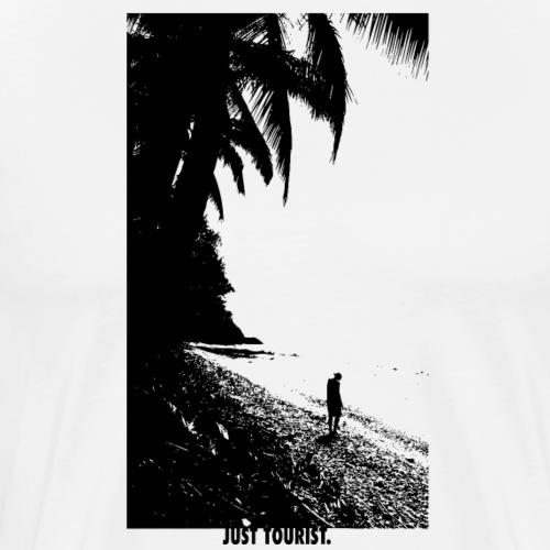 Lonley Beach - Men's Premium T-Shirt