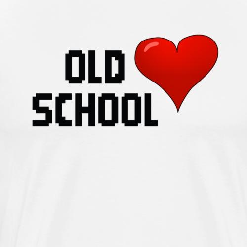 Old School Classic Retro - Männer Premium T-Shirt