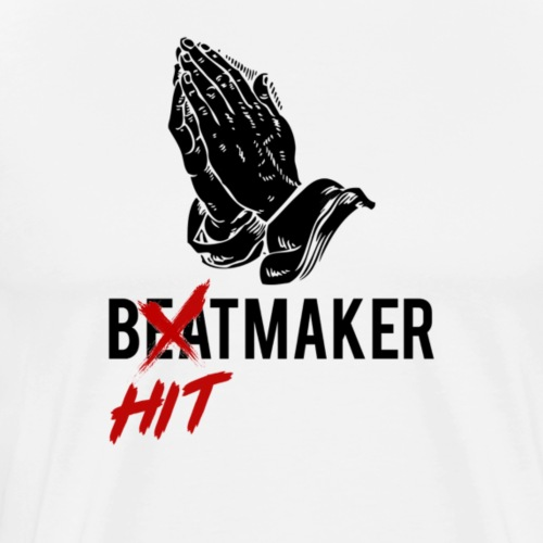 HitMaker Noir - T-shirt Premium Homme