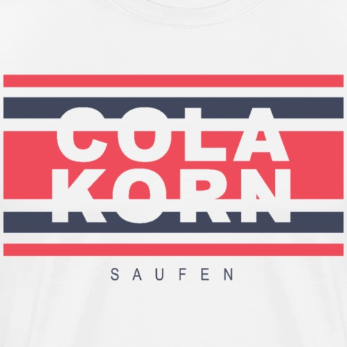 COLAKORN Saufen - Männer Premium T-Shirt