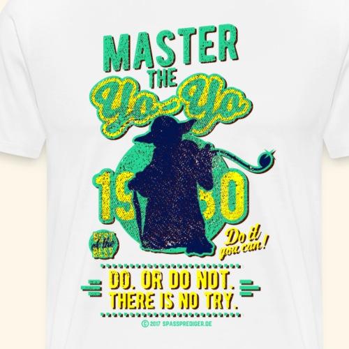 Master the Yo-yo - Männer Premium T-Shirt