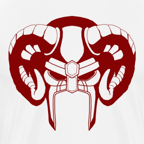 Viking rouge - T-shirt Premium Homme