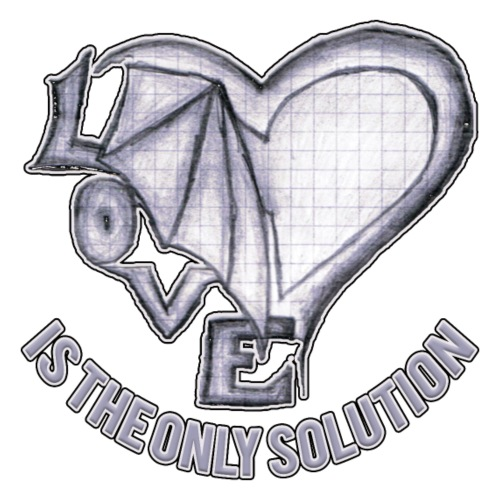 LOVE is the only solution - Männer Premium T-Shirt