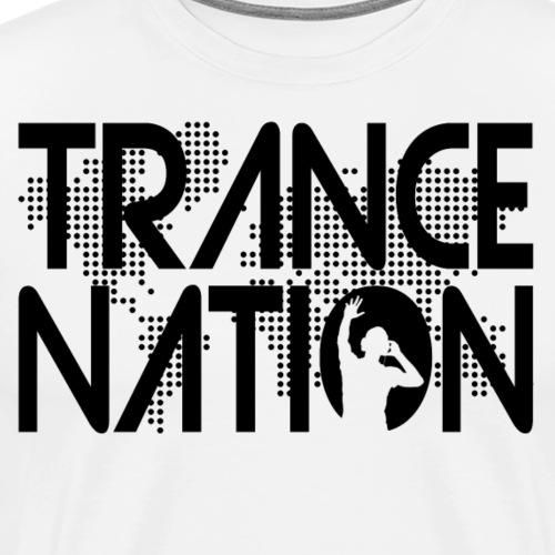 Trance Nation (Black) - Premium-T-shirt herr