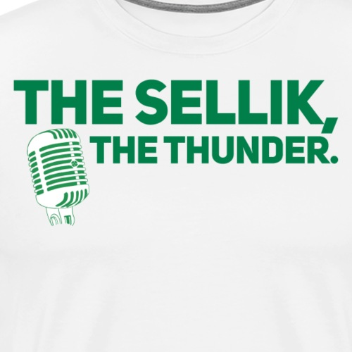 The Sellik, The Thunder. - Men's Premium T-Shirt