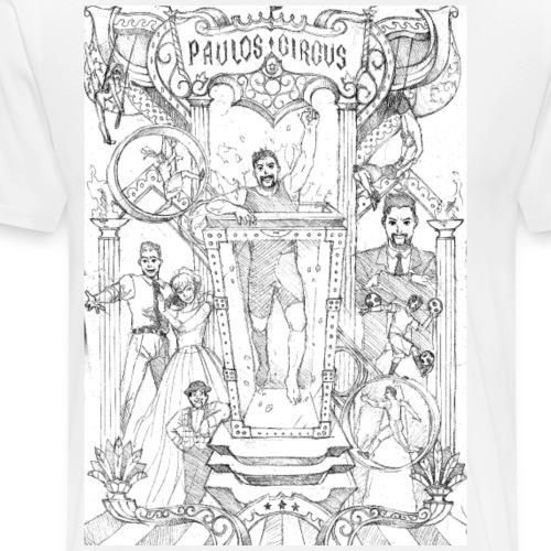 Paulos Circus Tour 2017 - Men's Premium T-Shirt