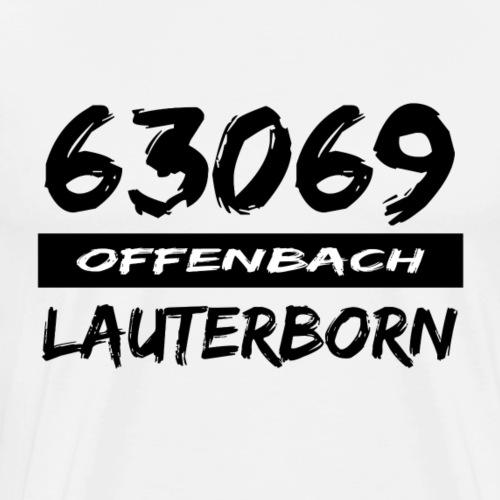 63069 Offenbach Lauternborn - Männer Premium T-Shirt