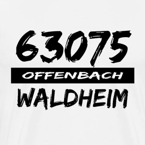 63075 Offenbach Waldheim - Männer Premium T-Shirt