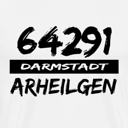 64291 Arheilgen Darmstadt tshirt hessen - Männer Premium T-Shirt