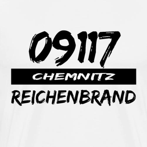 09117 Reichenbrand Chemnitz Karl-Marx-Stadt tshirt - Männer Premium T-Shirt