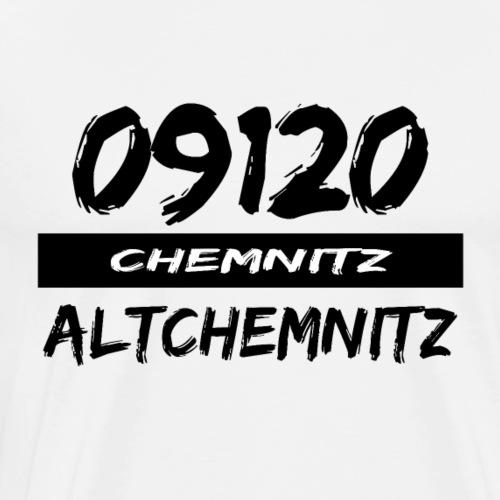 09120 Altchemnitz Chemnitz Karl-Marx-Stadt tshirt - Männer Premium T-Shirt