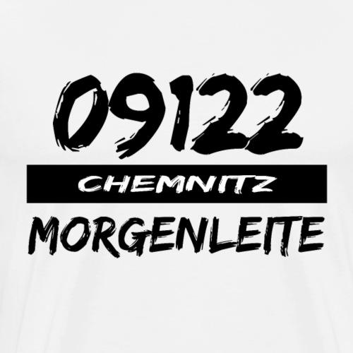 09122 Morgenleite Chemnitz Karl-Marx-Stadt tshirt - Männer Premium T-Shirt