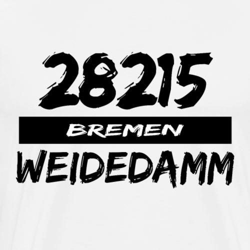 28215 Bremen Weidedamm - Männer Premium T-Shirt