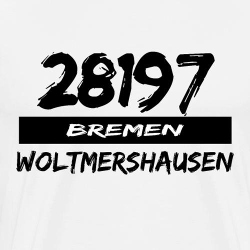 28197 Bremen Woltmershausen - Männer Premium T-Shirt