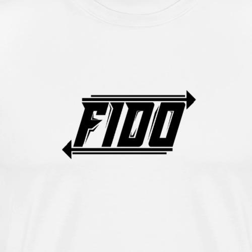 Fido - Simple - Herre premium T-shirt