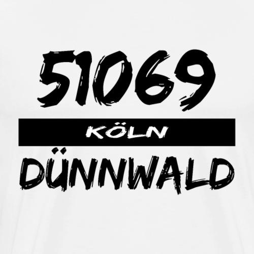 51069 Köln Dünnwald - Männer Premium T-Shirt