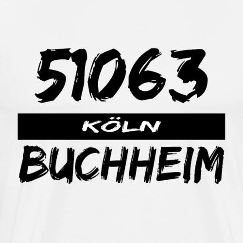 51063 Köln Buchheim - Männer Premium T-Shirt