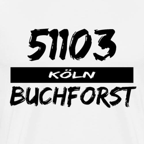 51103 Köln Buchforst - Männer Premium T-Shirt