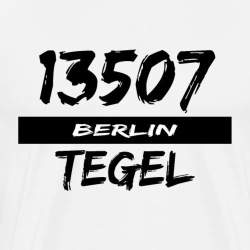 13507 Berlin Tegel - Männer Premium T-Shirt