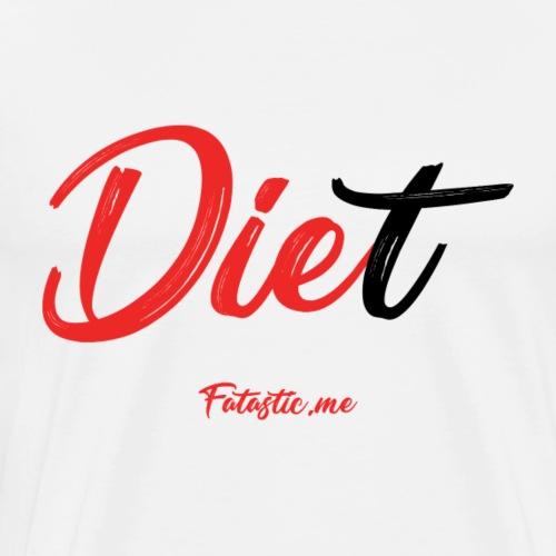 Diet by Fatastic.me - Men's Premium T-Shirt