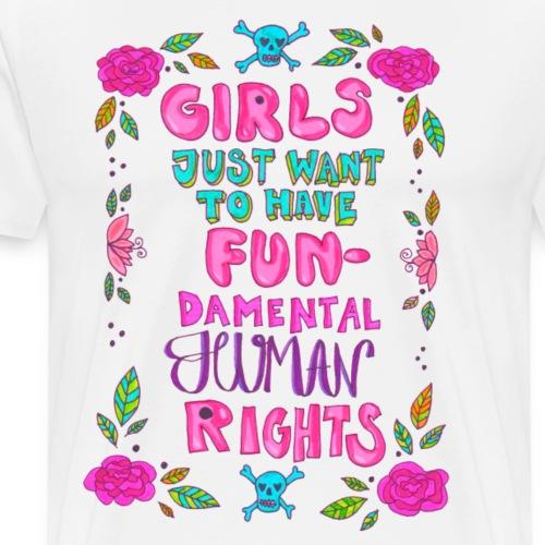 Fundamental human rights - Premium-T-shirt herr