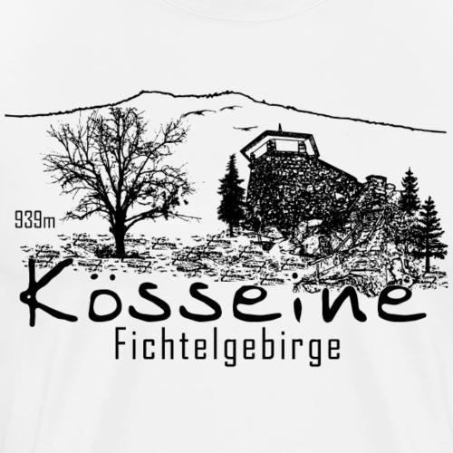 Kösseine Fichtelgebirge Fichtelhills - Männer Premium T-Shirt