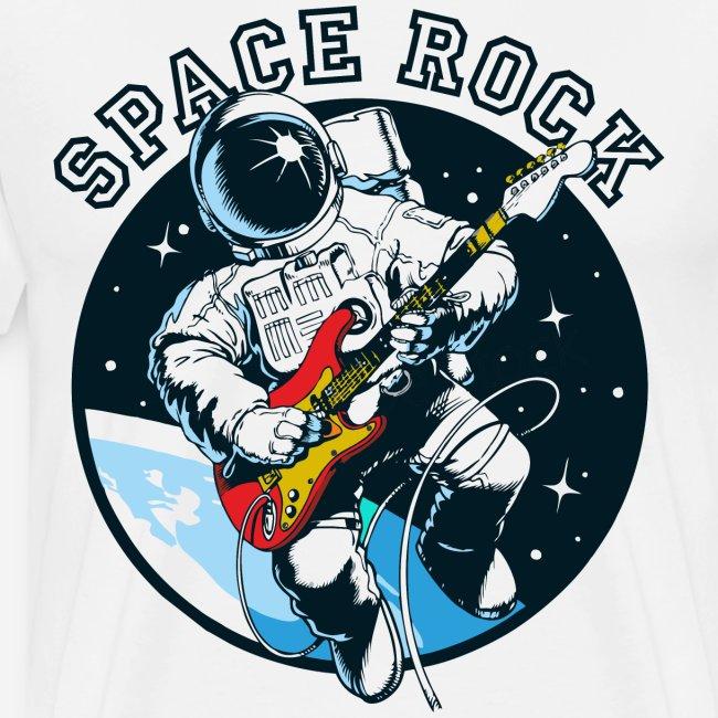 Weltraum-Astronautengestein