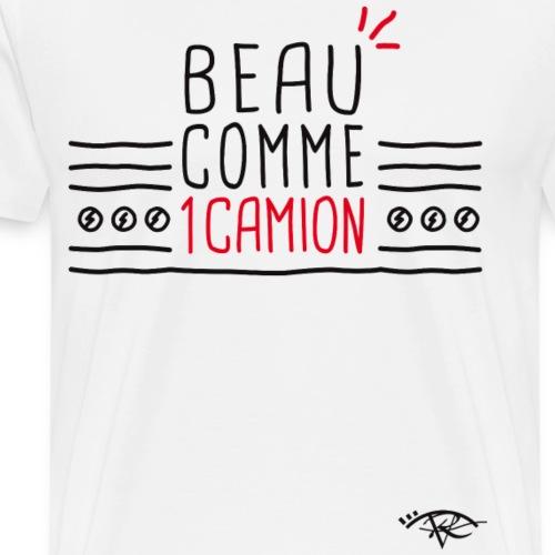 Beau comme un camion Rougevision - T-shirt Premium Homme