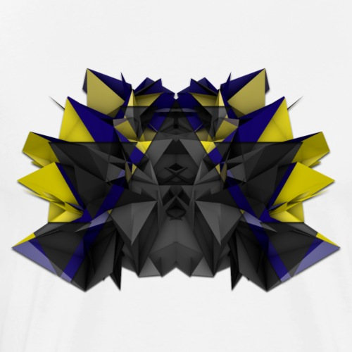 3D Abstract - The Centipede - Men's Premium T-Shirt
