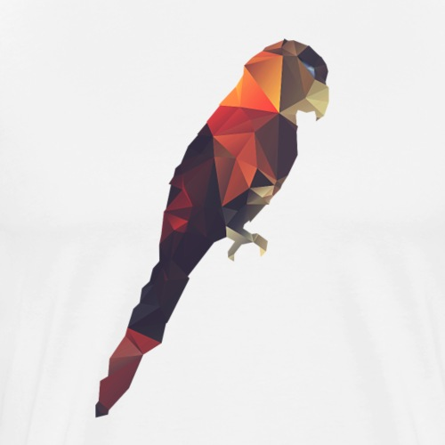 Parrot - Maglietta Premium da uomo