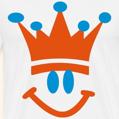 Christmas Smily King - Men's Premium T-Shirt