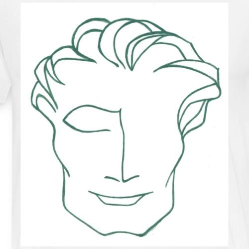 Mr solaire vert - T-shirt Premium Homme