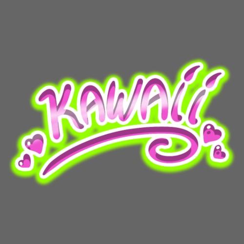 Kawaii Rose et Vert - T-shirt Premium Homme