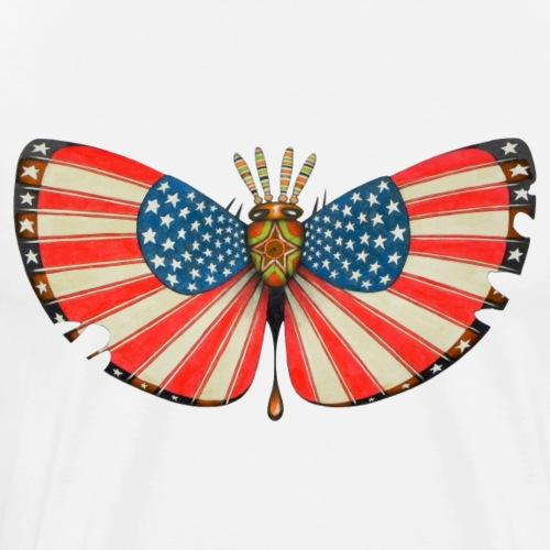patriot moth - Maglietta Premium da uomo