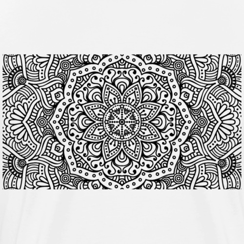 mandala1 - Men's Premium T-Shirt