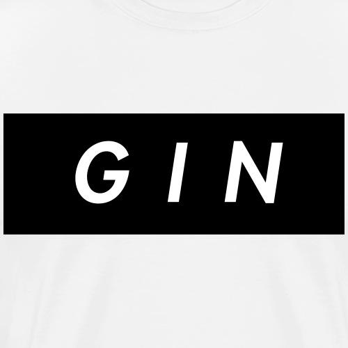 GIN - Camiseta premium hombre