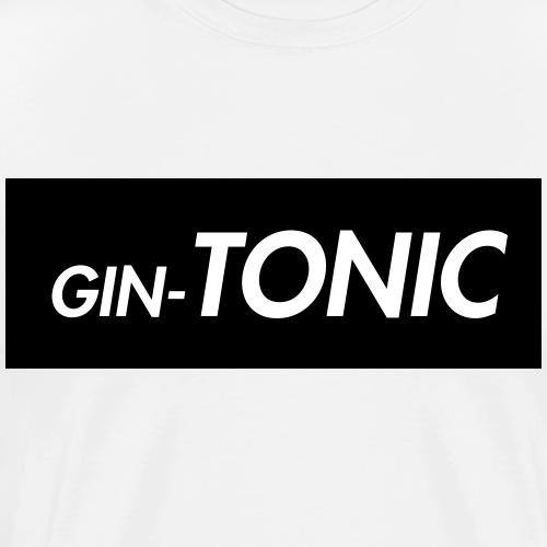 GIN TONIC - Camiseta premium hombre