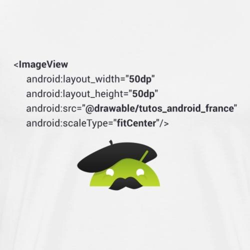 logo imageview - T-shirt Premium Homme