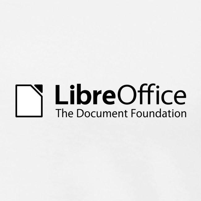 LibreOffice w TDF tagline black white