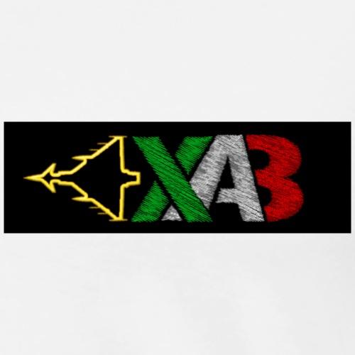 XAB sfondo nero - Maglietta Premium da uomo