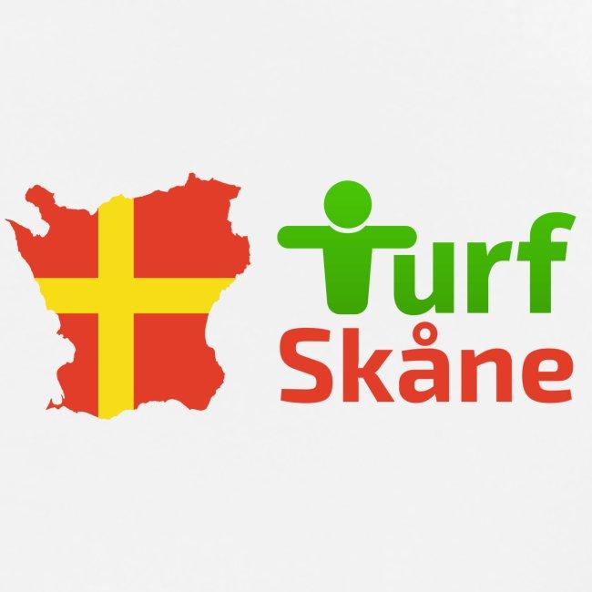 Turf Skåne Logo röd