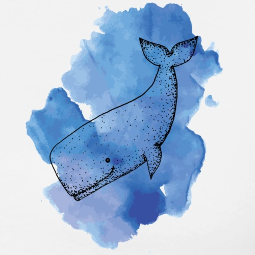Whale Color - Men's Premium T-Shirt